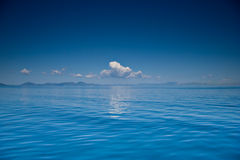 View of an open sea Stock Photo