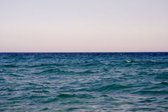 View of a open sea. Open sea Stock Photography