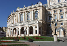 View on Opera House. In Odesa, Ukraine Royalty Free Stock Photography