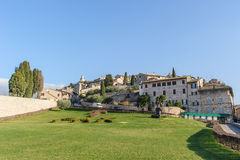 View of opposite side of the Basilica of San Francesco Stock Photography