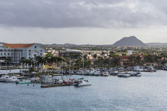 View on Oranjestad Royalty Free Stock Photo