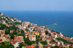 View from Ordu. Black Sea Region, Turkey Royalty Free Stock Photo