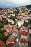 View of Ordu city (Turkey) Royalty Free Stock Photo