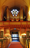 View of the organ in church, Sweden, Scandinavia, Europe Royalty Free Stock Photography