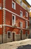 View of Orgosolo. Sardinia. Italy Royalty Free Stock Photography