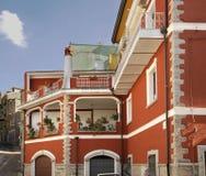 View of Orgosolo. Sardinia. Italy Royalty Free Stock Photos
