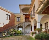 View of Orgosolo. Sardinia. Italy Royalty Free Stock Photo