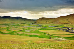 View of Orkhon Valley Royalty Free Stock Image