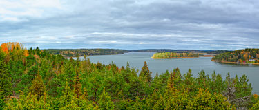 View from Orrdalsklint, Aland, Finland Stock Photo