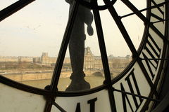 Orsay museum in Paris. Royalty Free Stock Images