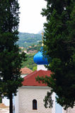 View of an Orthodox church in  Herceg Novi Royalty Free Stock Image