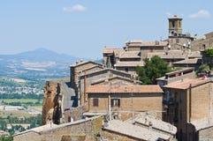View of Orvieto. Umbria. Italy. Stock Image