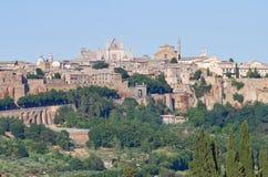View of Orvieto. Umbria. Italy. Stock Images