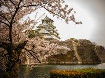 Osaka-jo Castle in Osaka, Japan royalty free stock images