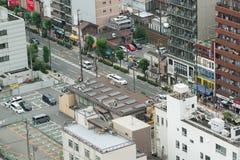 Osaka streetscape royalty free stock photos
