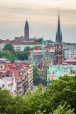 View of Oscar Fredriks church in Gothenburg Stock Photography