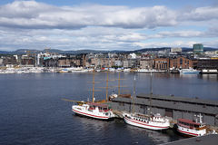 View of Oslo Royalty Free Stock Image