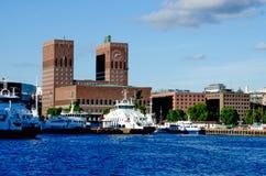 View of Oslo Royalty Free Stock Photos