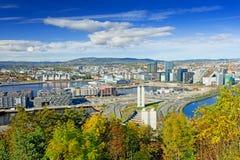 View of Oslo city Stock Photos