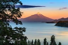Lake Llanquihue stock image
