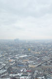 View from Ostankino television tower Stock Photography