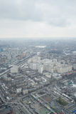View from Ostankino television tower Royalty Free Stock Image