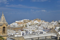 View of Ostuni, Puglia, Italy Royalty Free Stock Photography