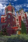 Our Lady of Tikhvin church 2 stock photo
