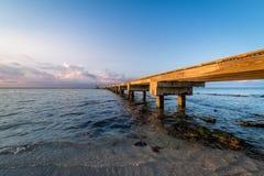 The coast of Key West royalty free stock image