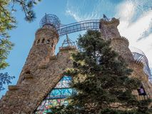 Bishop Castle in Colorado. A view outside the Bishop Castle in Colorado Stock Image