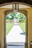 View outside from the main building Trerice garden cornwall england uk. Stock Photography