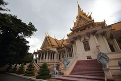 Royal Palace of Phnom Penh Stock Image