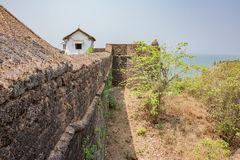View outside the walls Stock Photography