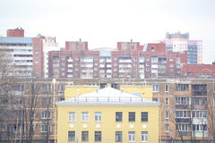 View of the outskirts of St. Petersburg Royalty Free Stock Photo