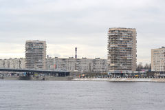View of the outskirts of St. Petersburg Stock Photo
