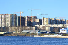 View of the outskirts of St. Petersburg Royalty Free Stock Photography