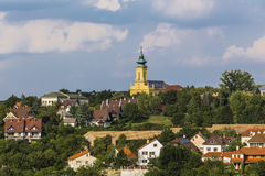 View of the outskirts of the town of Veszprem Stock Image