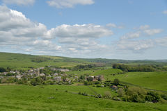 View over Abbotsbury village in Dorset Royalty Free Stock Photos