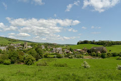 View over Abbotsbury village in Dorset Royalty Free Stock Photo