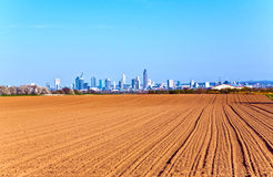 View over acres to the Skyline Royalty Free Stock Photography