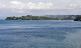 View over Adriatic Sea in Piran, Slovenia Royalty Free Stock Photo