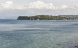 View over Adriatic Sea in Piran, Slovenia Stock Photography