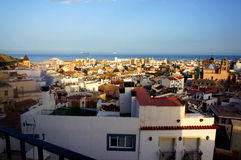 View over Alacant Stock Photo