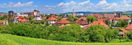 View over Alba Iulia city in Romania