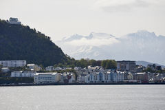 View over Alesund Stock Photos