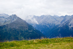 View over the Alps Stock Images