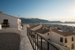 View over Altea Stock Photo