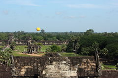 View over angkor wat Royalty Free Stock Image