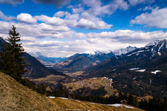 View over Arzl Royalty Free Stock Photography