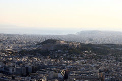 View over Athens Stock Photo